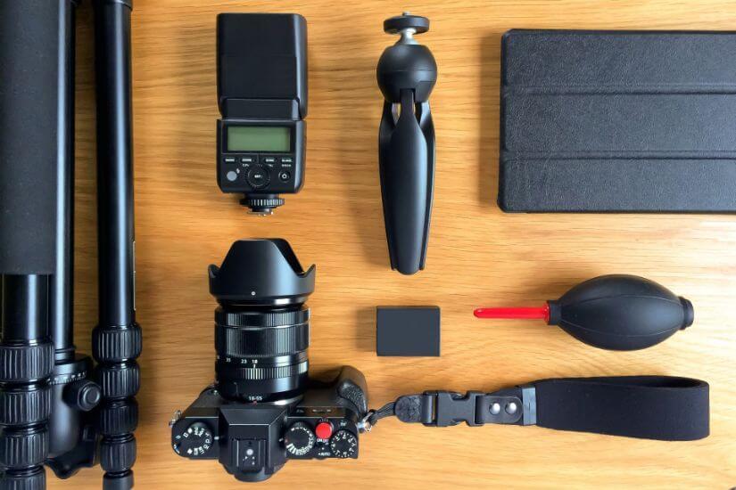 カメラの準備