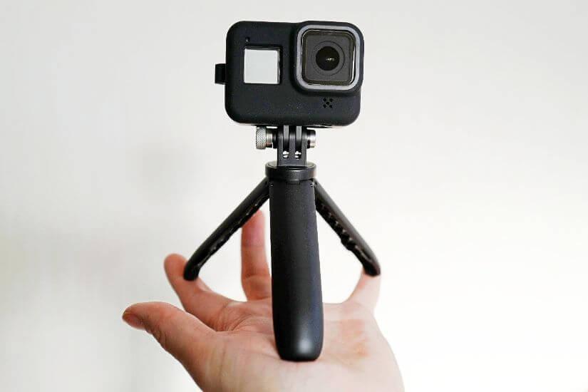 GoProと三脚